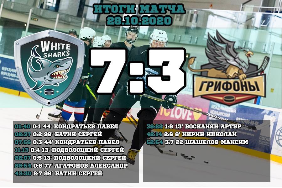 Первая игра в СПбХЛ