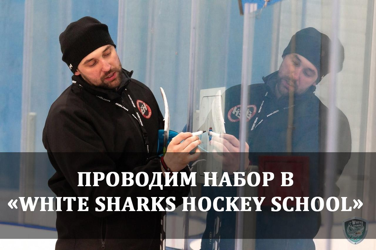 Проводим набор в «White Sharks Hockey School»
